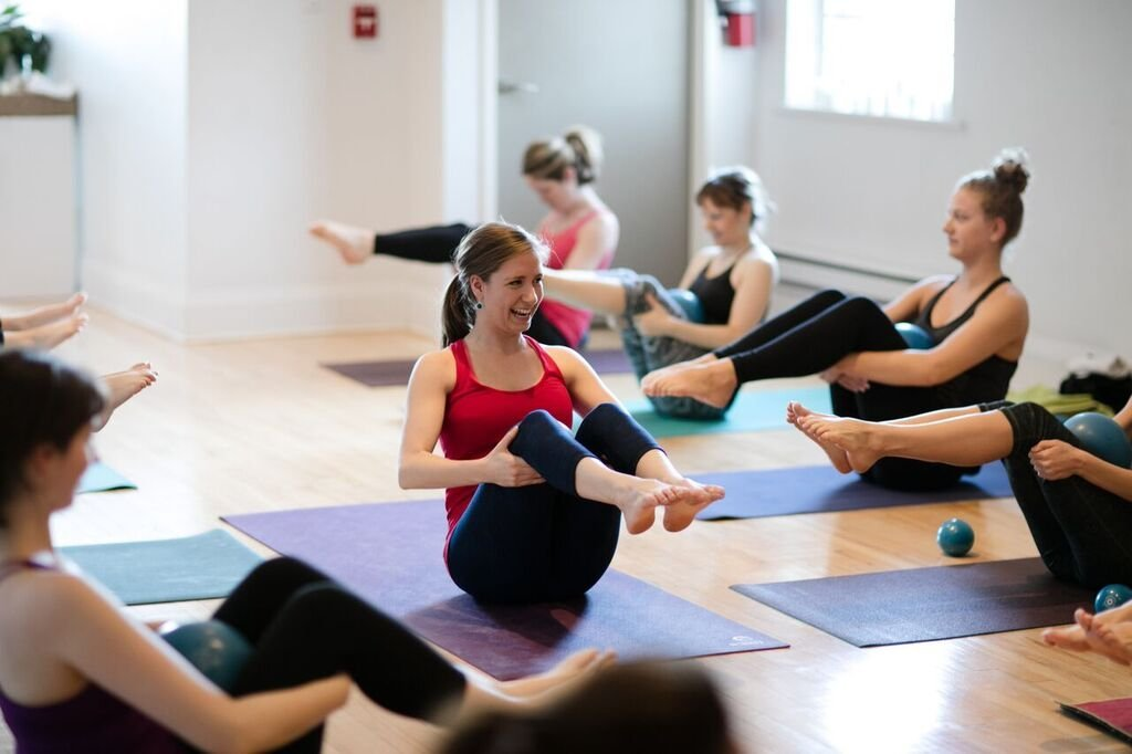 889 Yoga class in Rosedale Toronto