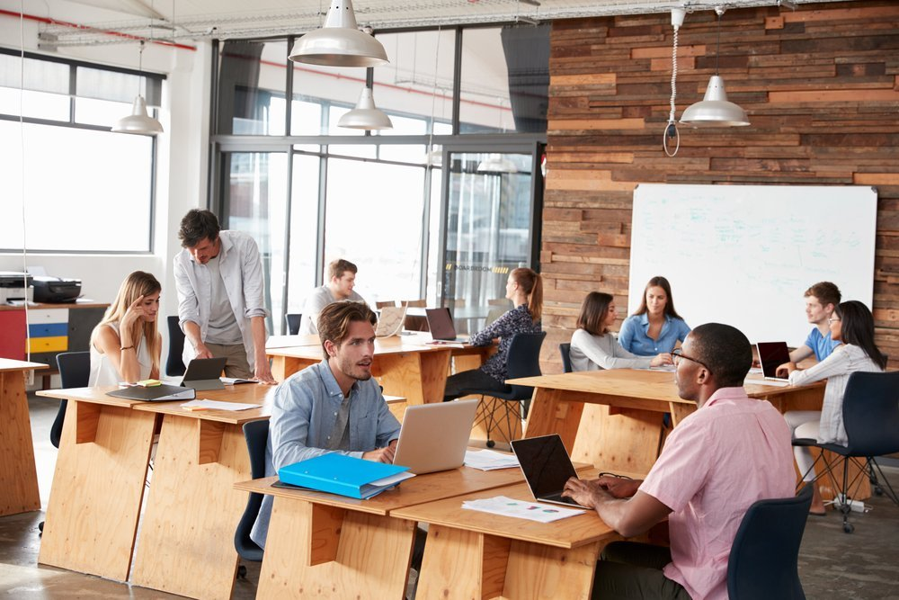 The Advantages Of An Open Layout Office Space