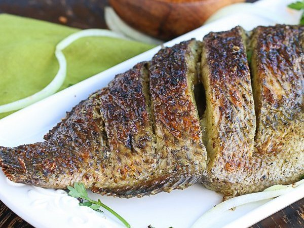 African Style Grilled Tilapia Recipe