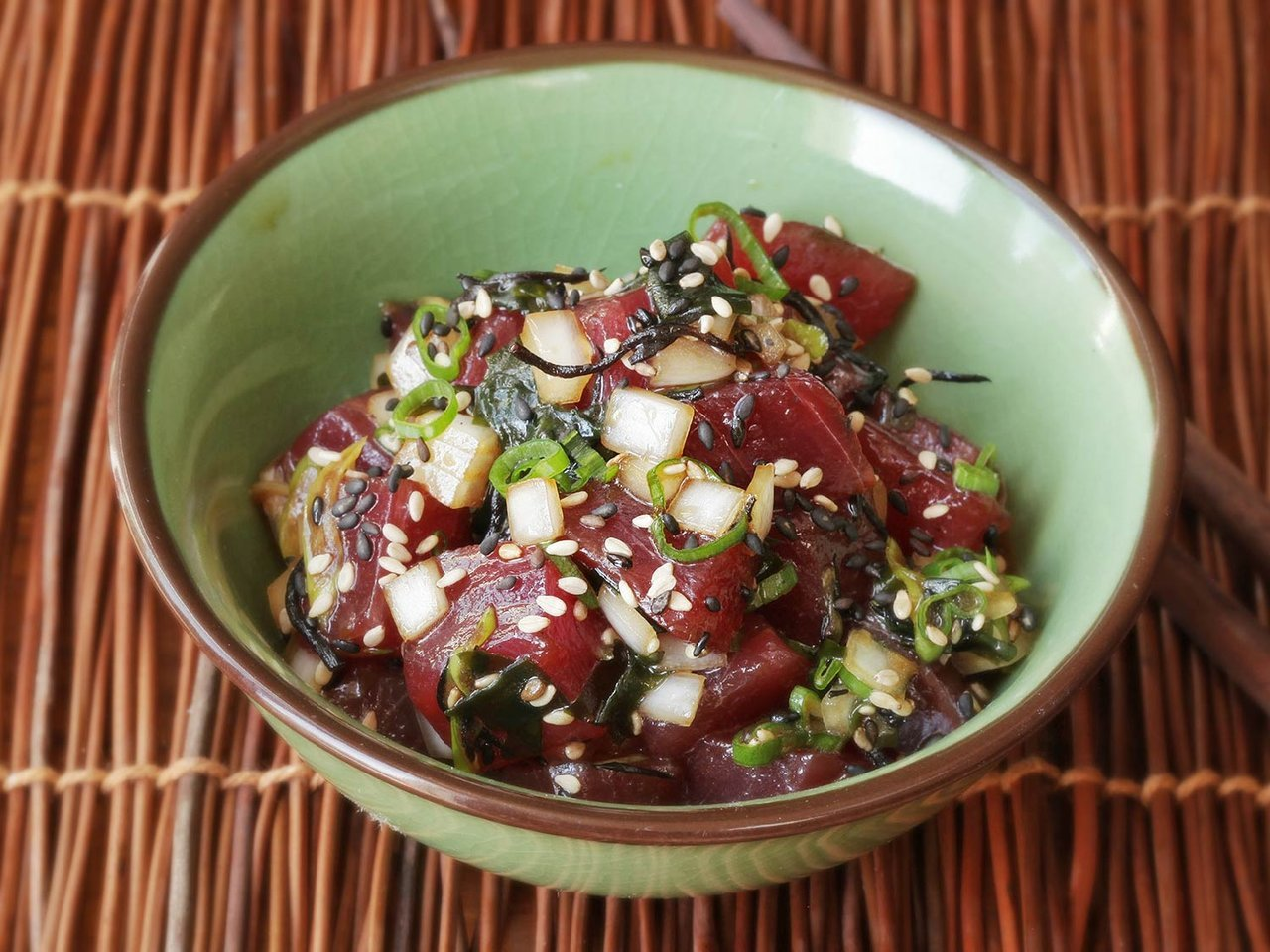 Ahi Poke Hawaiian Seafood Recipe
