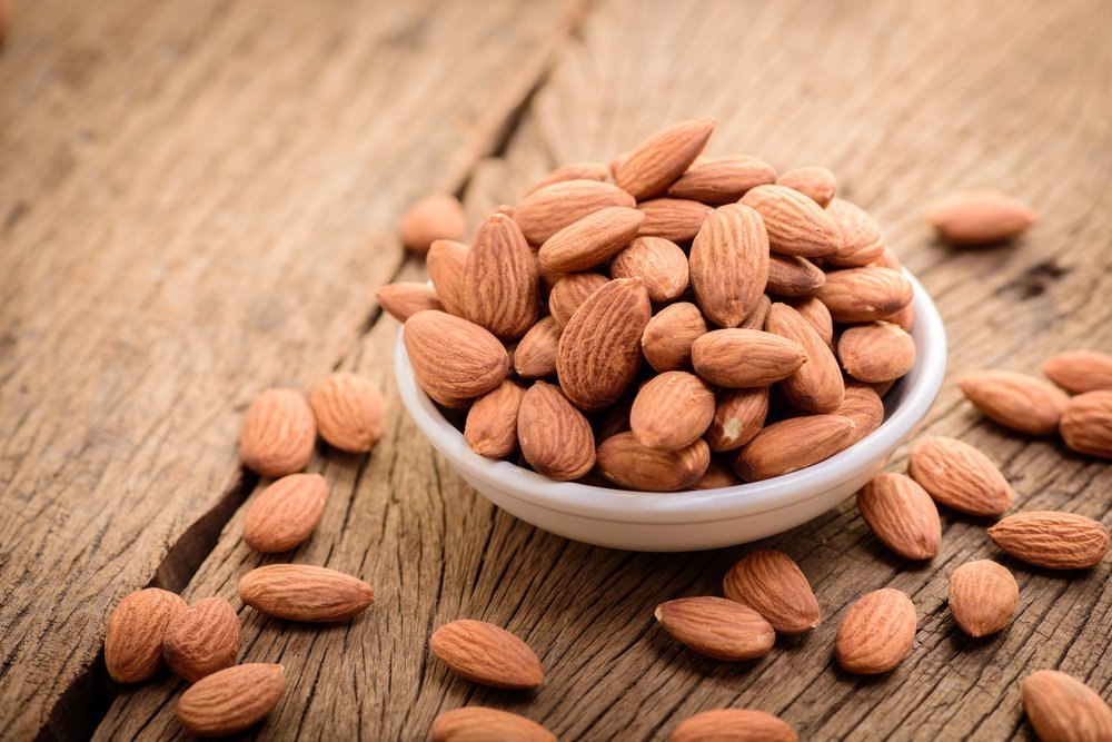 almonds healthy fats unsaturated fats