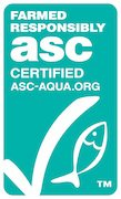 Aquaculture Stewardship Council ASC Certified