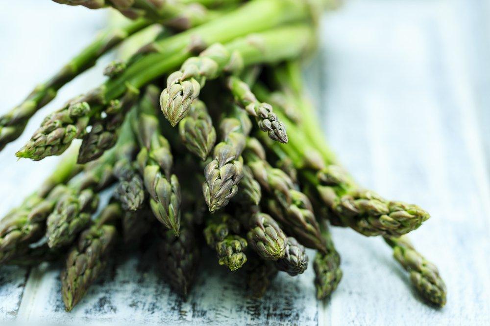 asparagus butter vegetable side