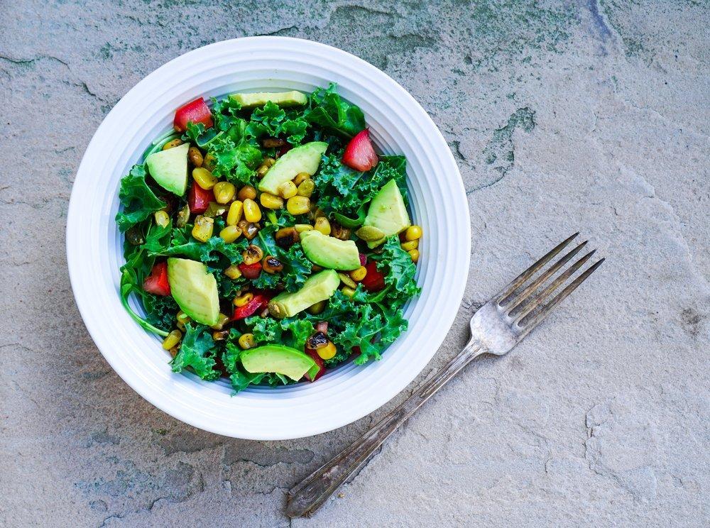 avocado salad lunch