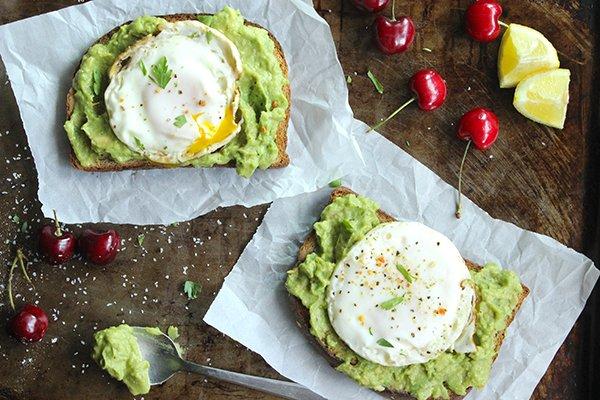 Easy Avocado Toast Egg Recipe Breakfast