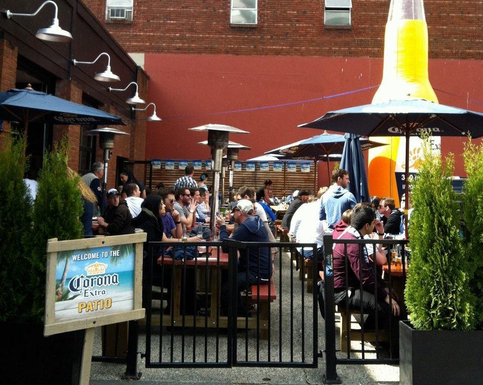 The Back Forty Best Vancouver patios
