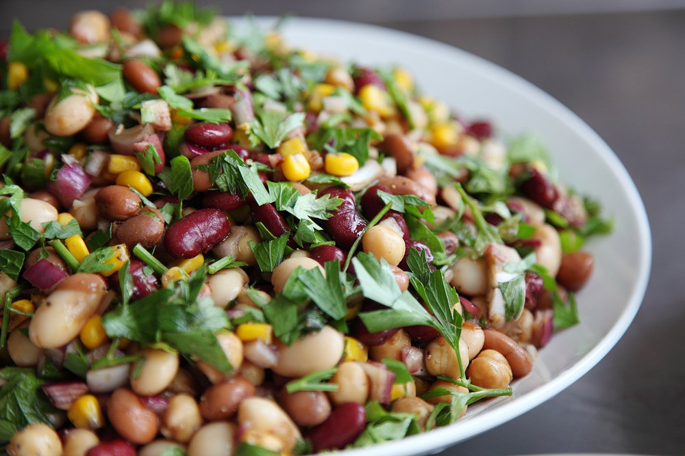 Lean Protein Healthy Bean Salad
