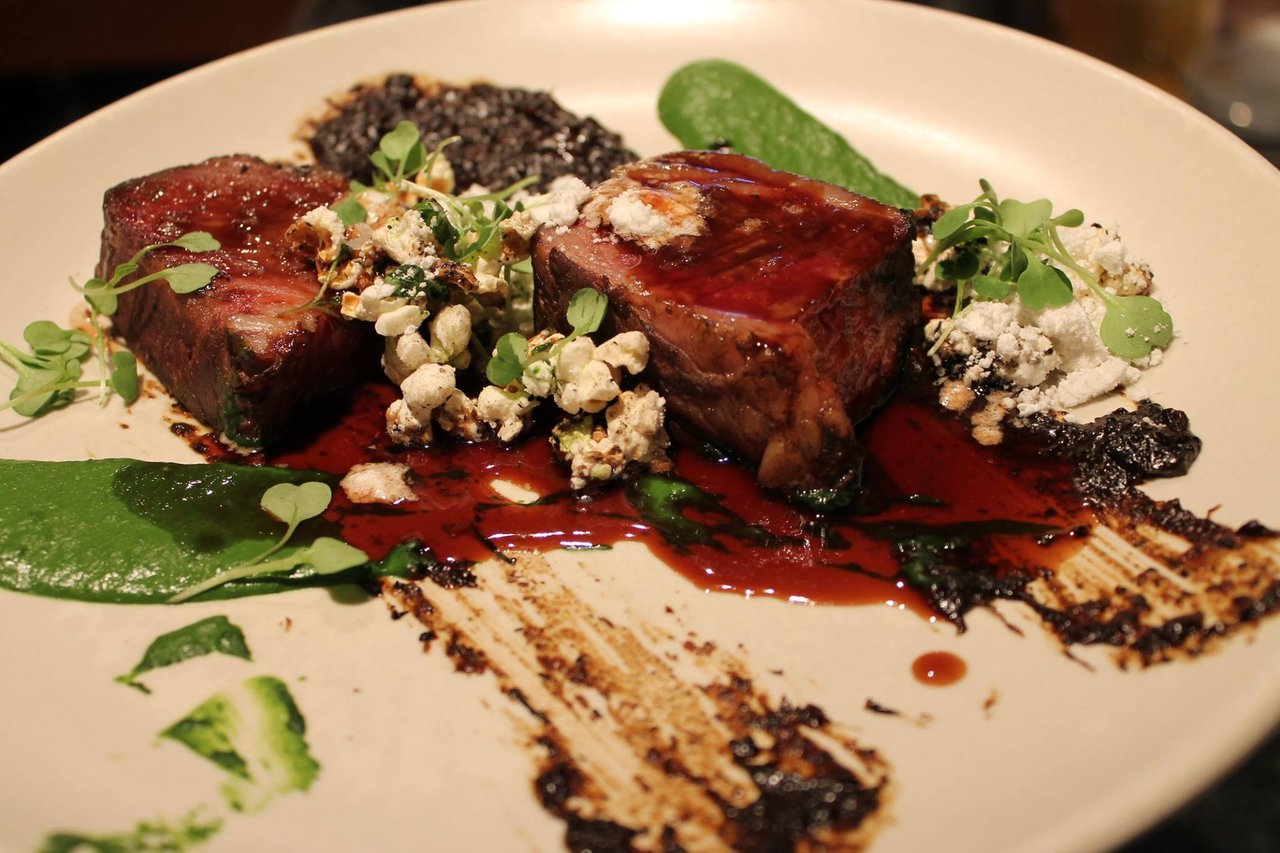 Beef Shortrib at Fable Restaurant Vancouver