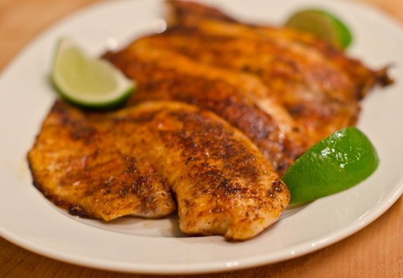 Blackened Cajun Tilapia Healthy Southern Recipe