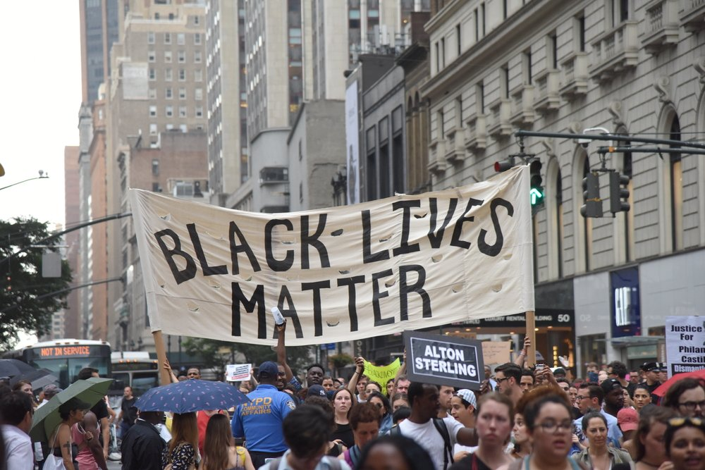 Black Lives Matter march in New York City