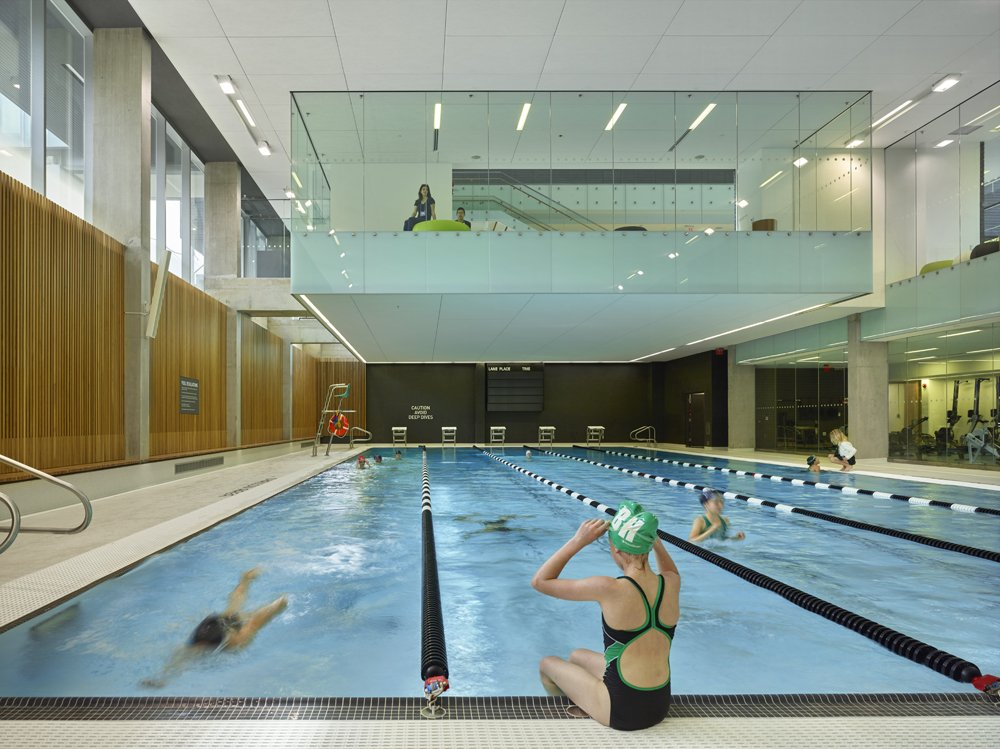 Branksome Hall Athletics and Wellness Centre pool Rosedale Toronto
