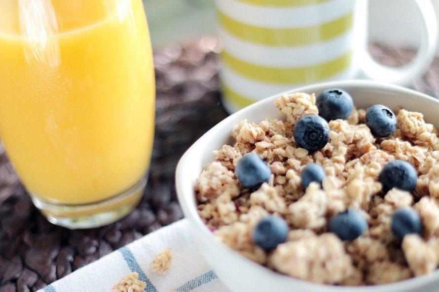 breakfast morning start day depressed