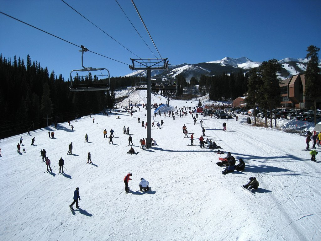 Breckenridge Colorado mountains skiing