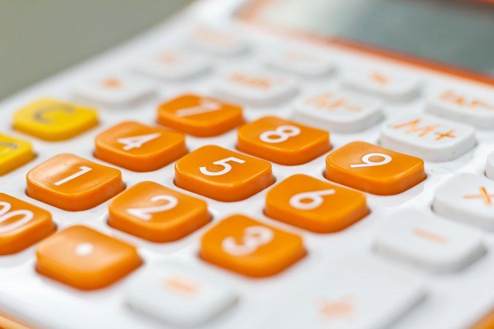 calculator counting calories