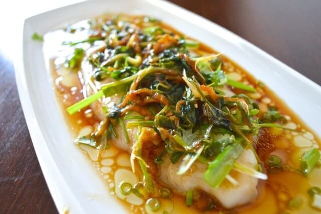 Cantonese Steamed Tilapia Healthy Chinese Recipe