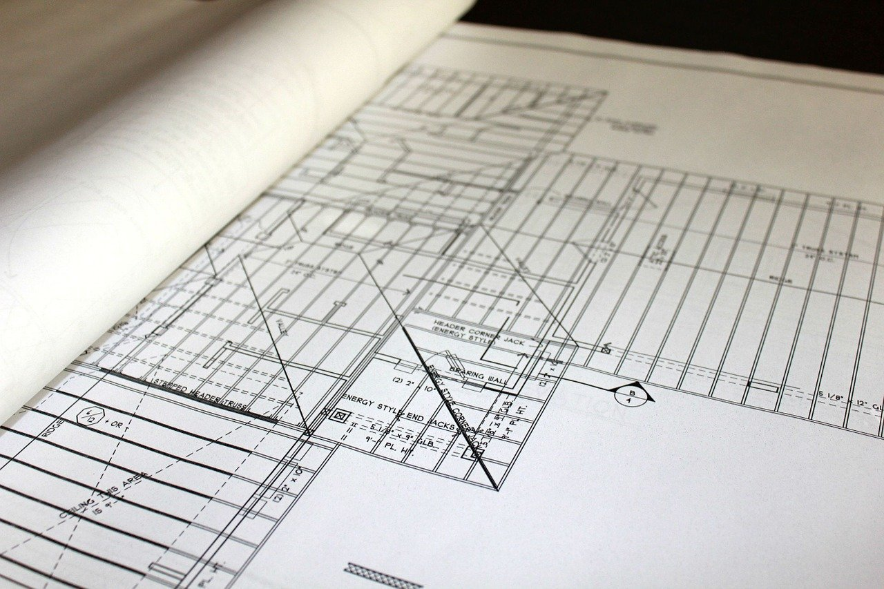 office blueprint plans