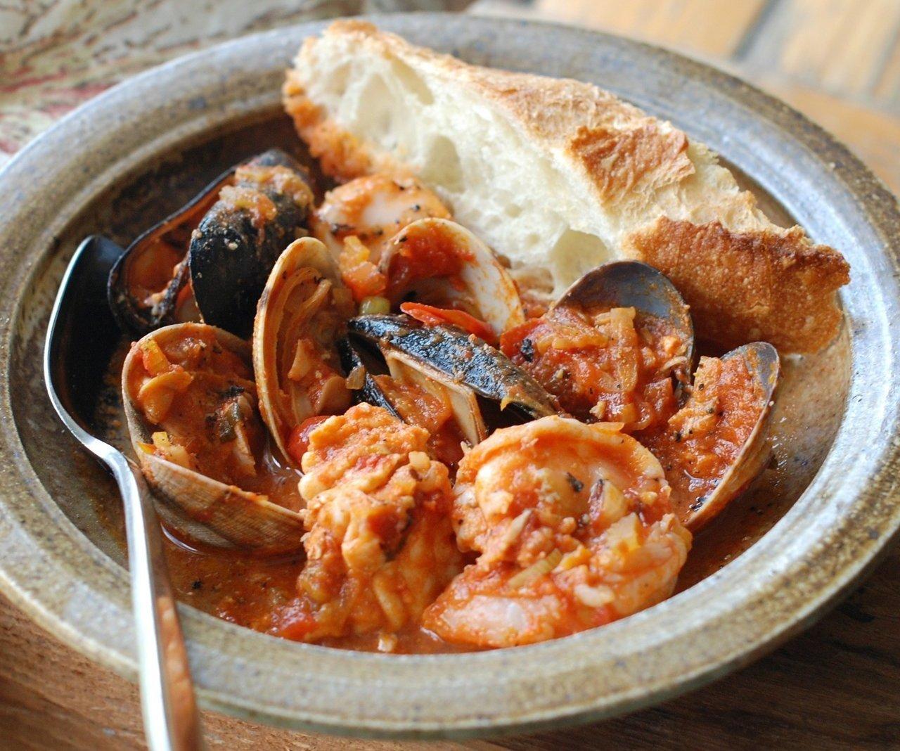 Cioppino Italian Seafood Cuisine Recipe