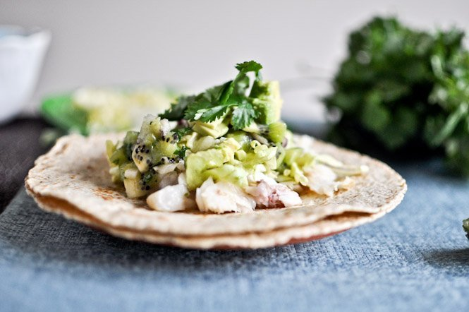 Coconut Lime Tilapia Fish Tacos