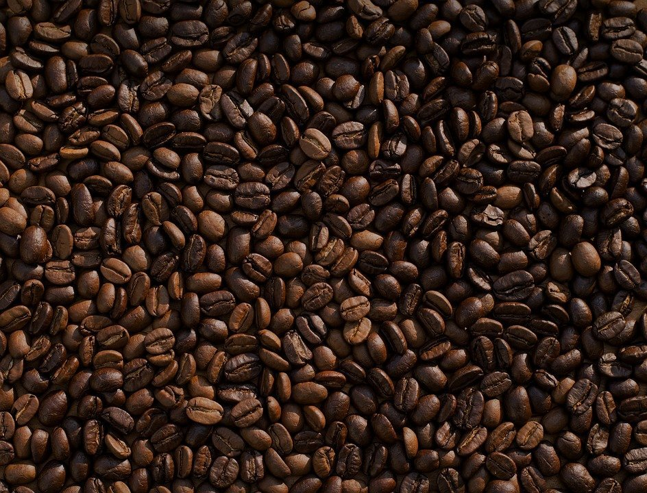 Coffee beans natural exfoliant