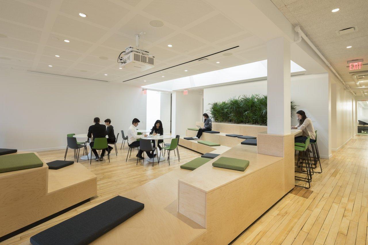 inspiring office design. Plain Design Moodboosting Design In New York To Inspiring Office Design