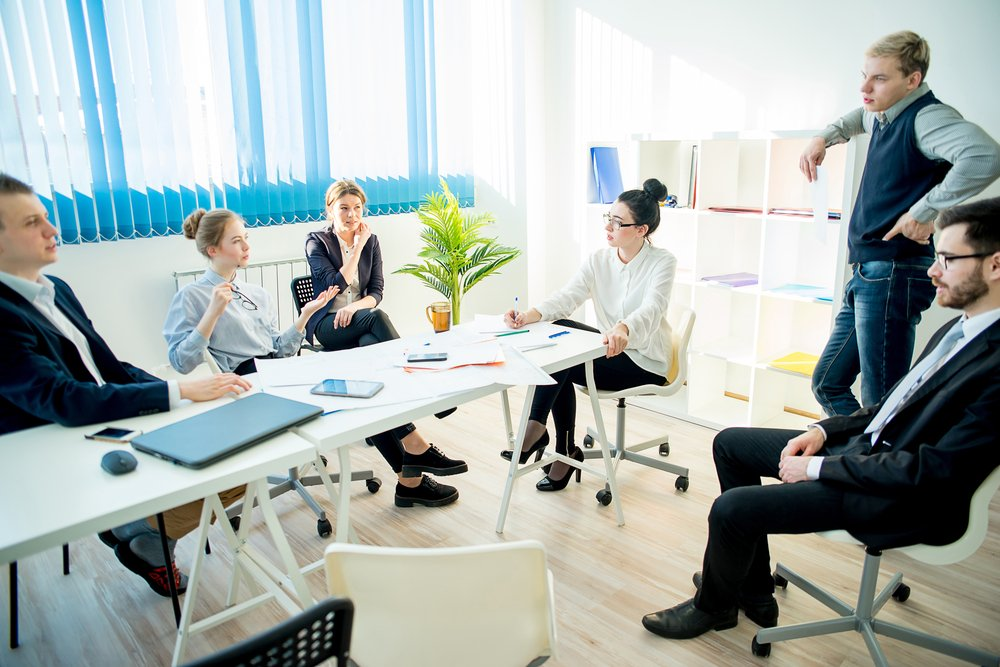 Flexibility with chairs in meeting space