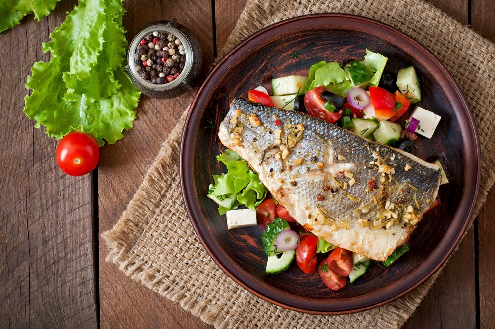 Fish Healthy Low Cholesterol Blood Pressure