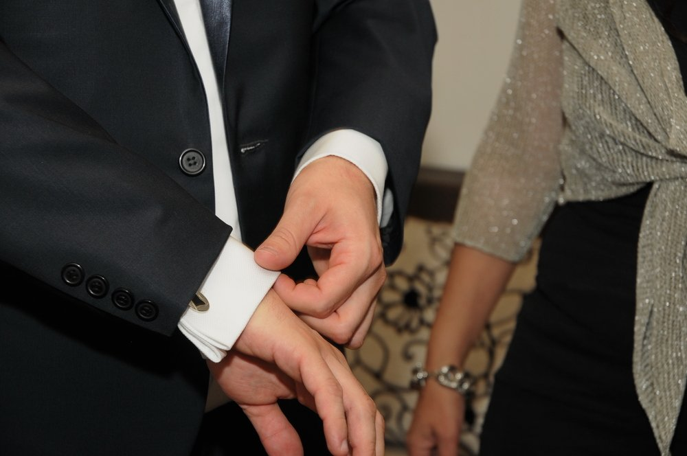 Couple in Formal Clothes