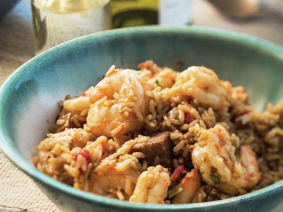 Louisiana Creole Spicy Seafood Jambalaya