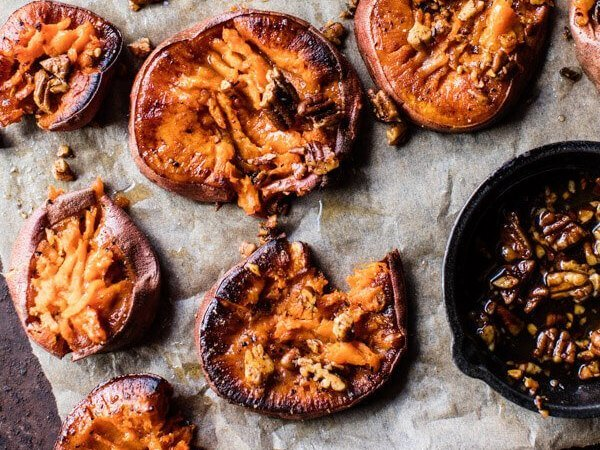 Crispy Roasted Sweet Potatoes Holiday Side