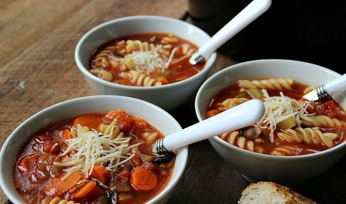 Crock Pot Healthy Vegetable Soup Recipe