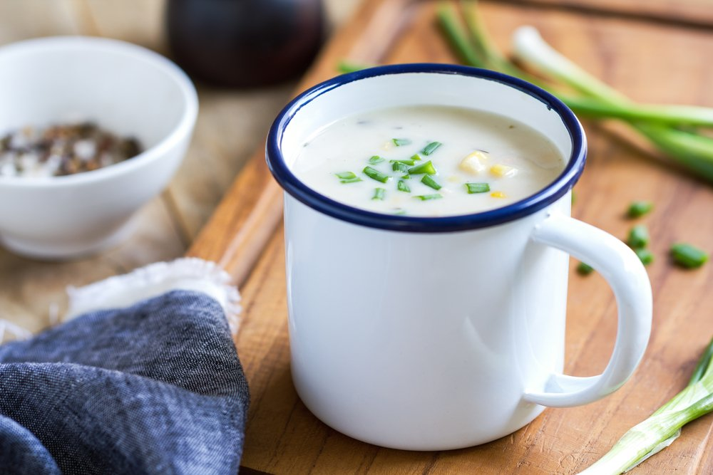 Tilapia Corn Chowder Slow Cooker