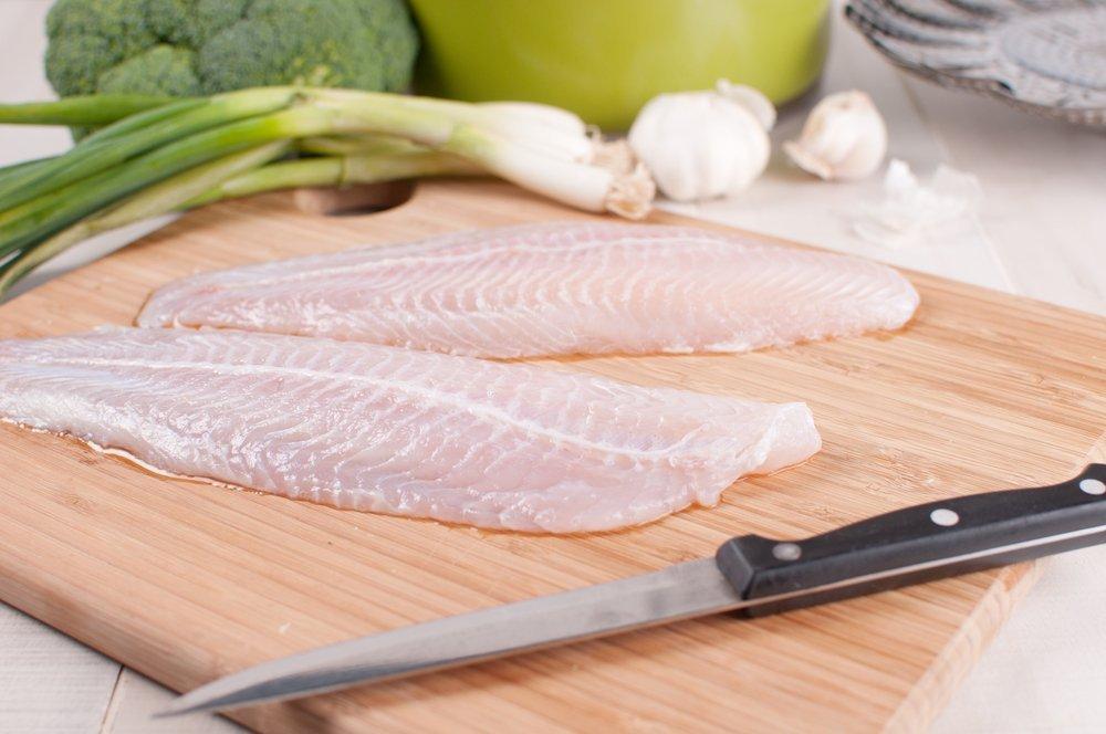 Defrost fish gradually in the fridge