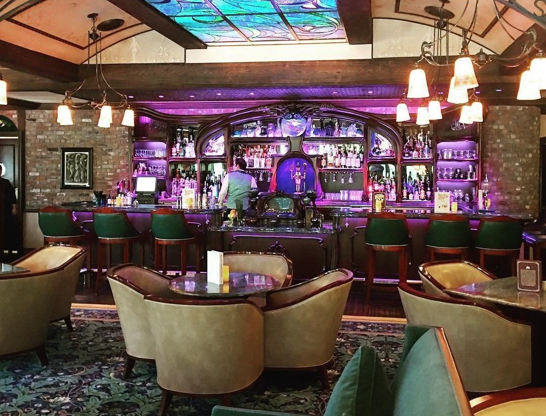 Bar at Disneyland's Club 33