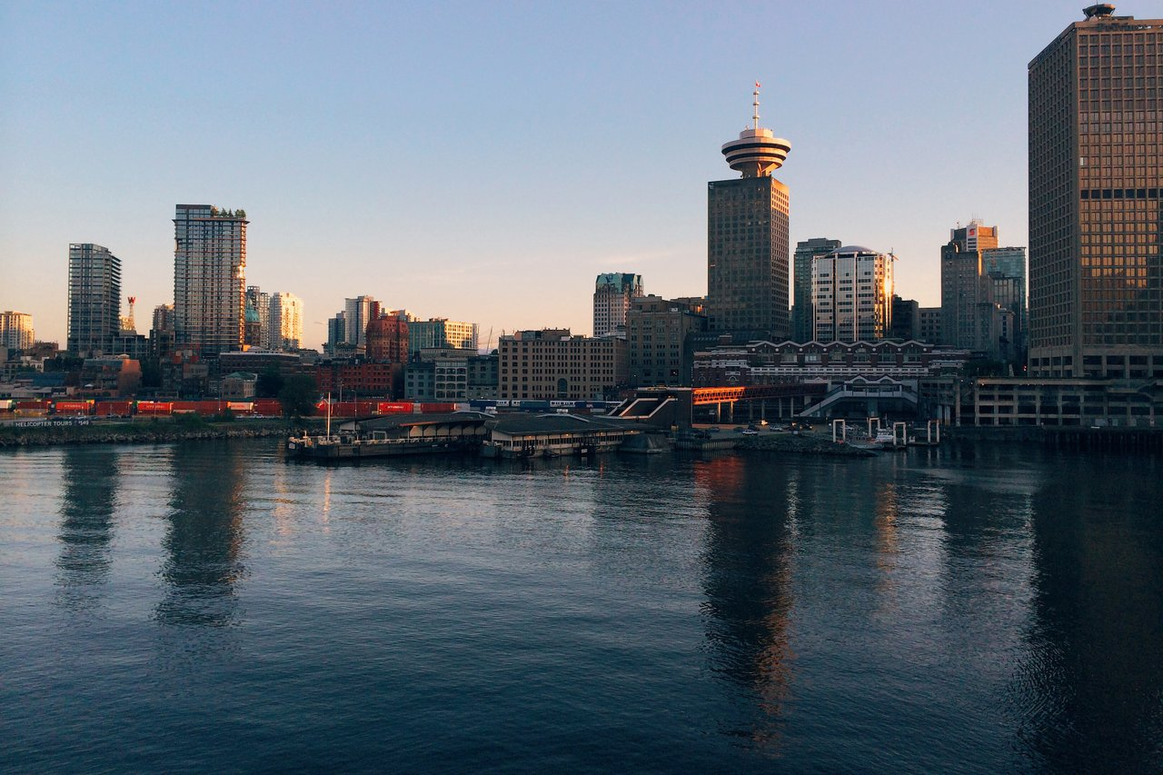 Downtown Vancouver Waterfront Smoke