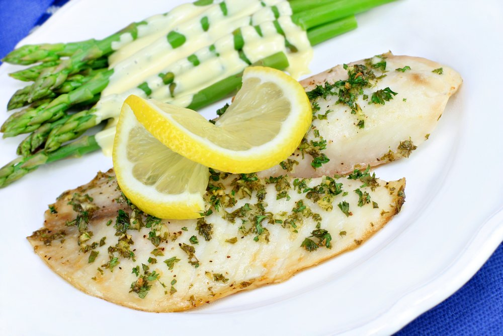 Lemon Garlic Baked Tilapia