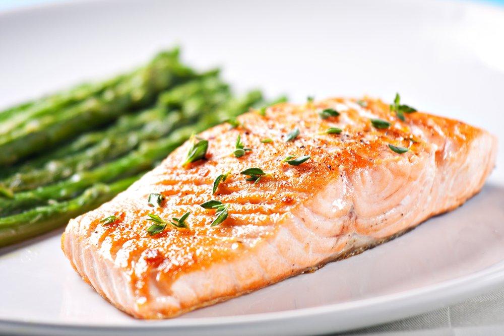 energy boosting salmon and turmeric recipe
