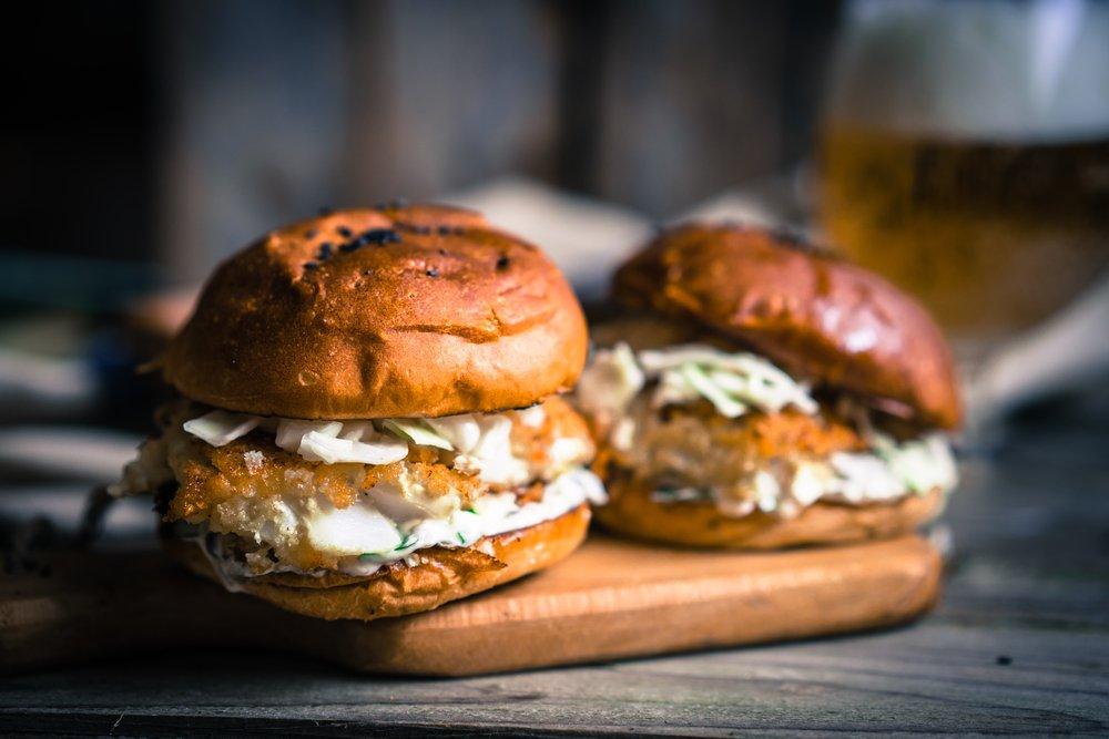 Fish Burgers Beef Alternative Seafood