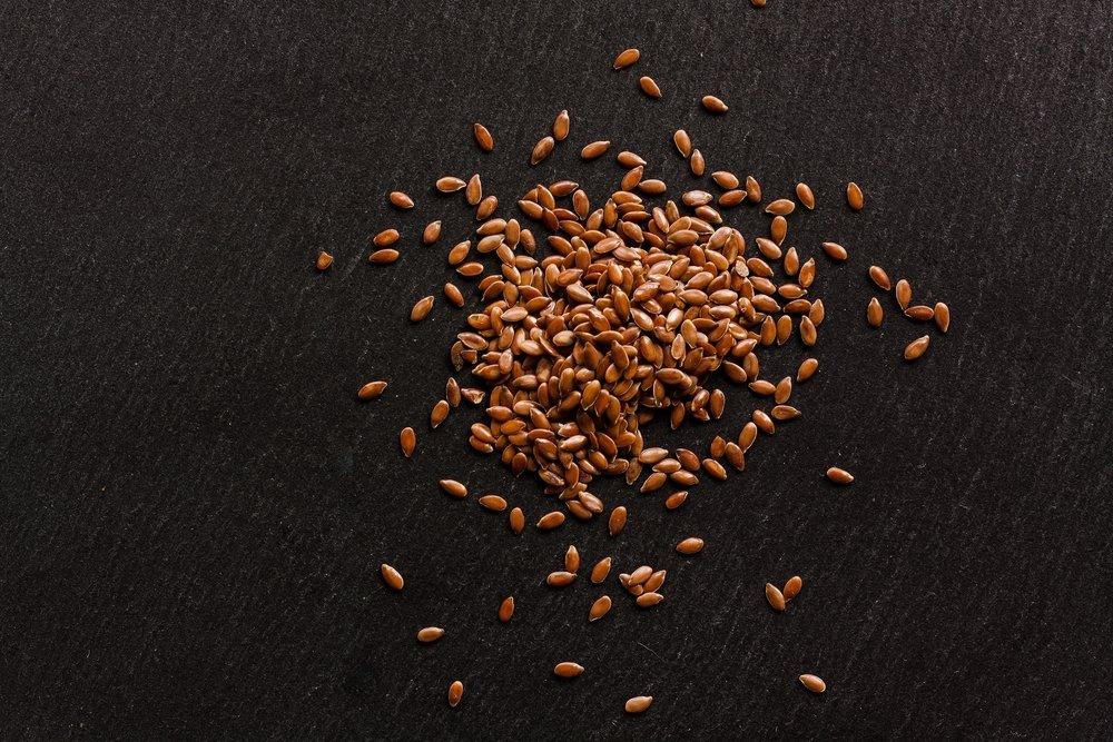 Flax Seeds little food