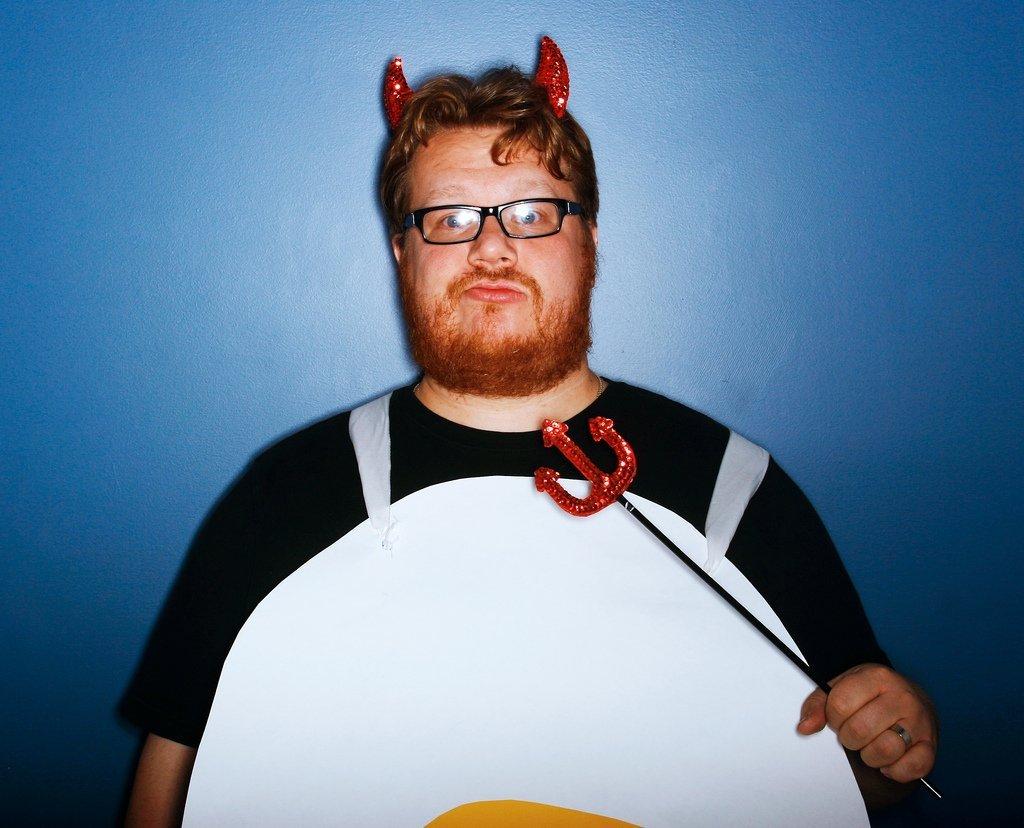 Deviled Egg Halloween costume