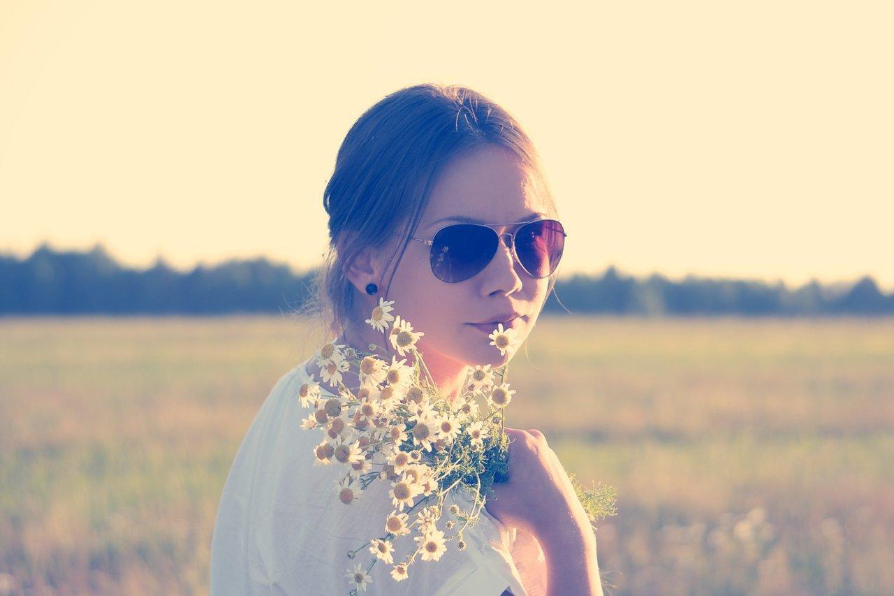 Girl Flowers Essential Oils