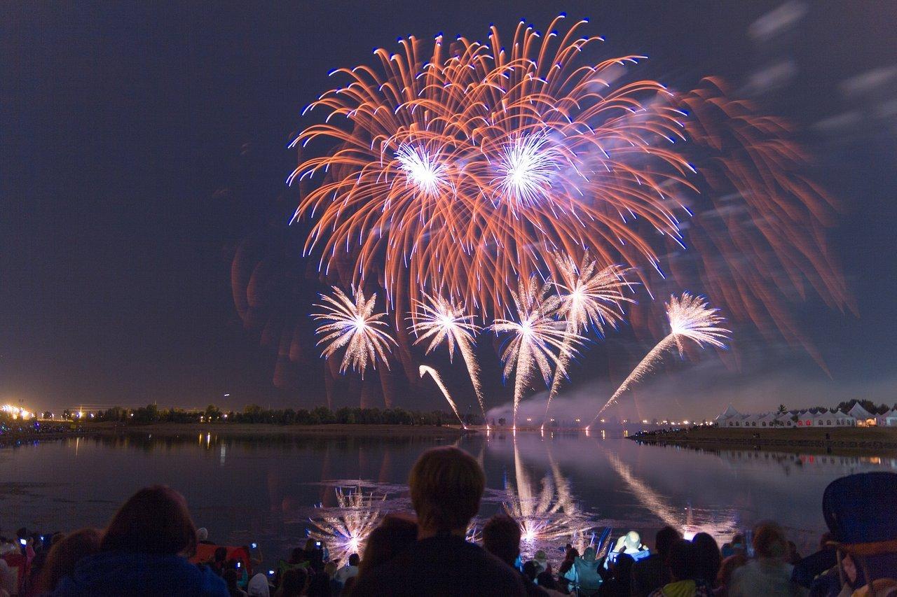 GlobalFest Fireworks Festival in Calgary
