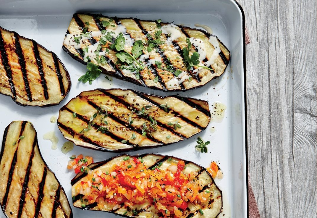 recipe: grilled eggplant side dish [11]