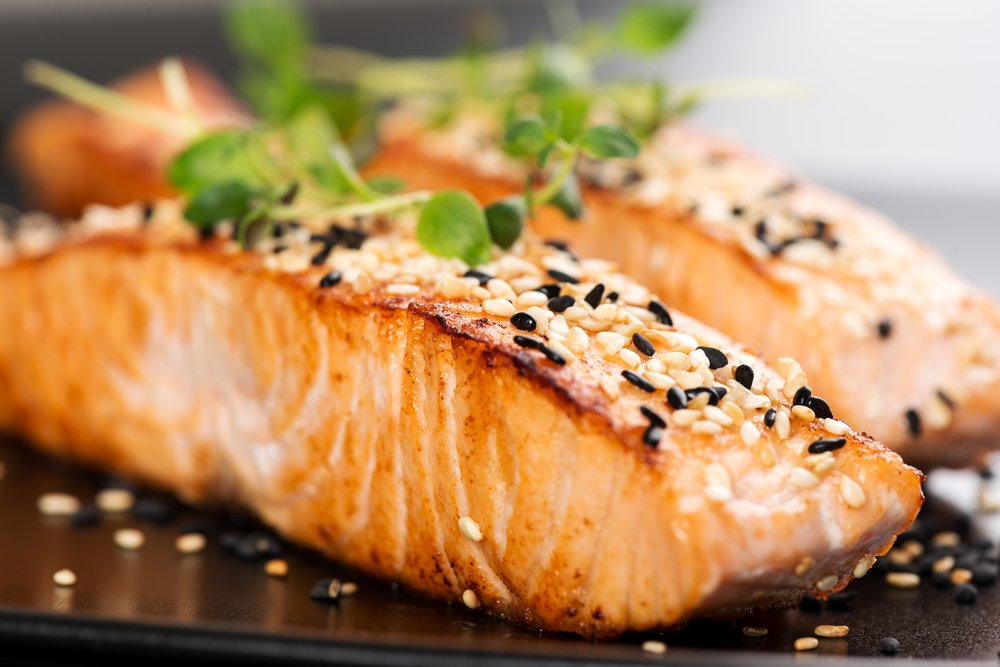 grilled salmon healthy fats unsaturated fats