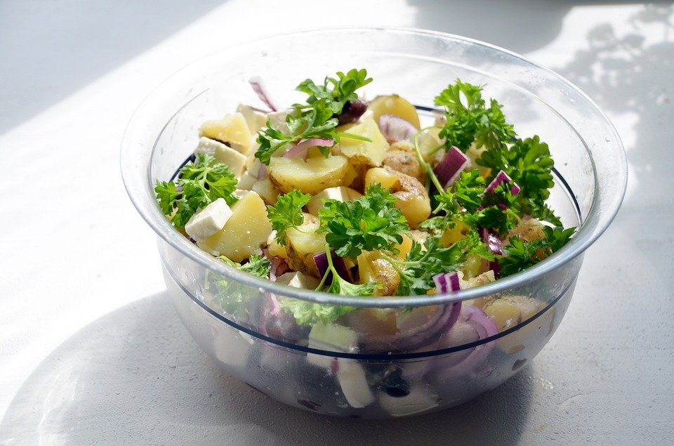 Healthy alternative to potato salad