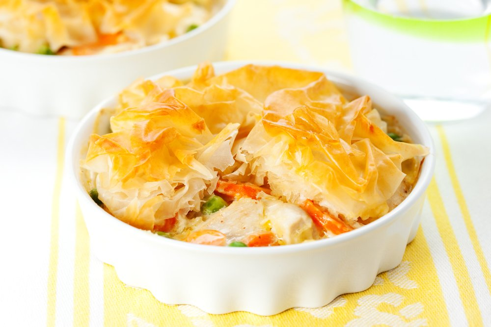 Chicken Pot Pie Freezer Meal Healthy Recipe
