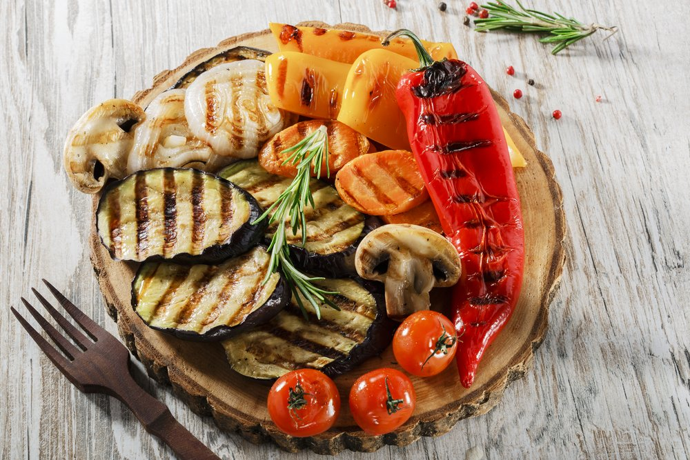 Grilled Vegetables Healthy Barbecue Recipe