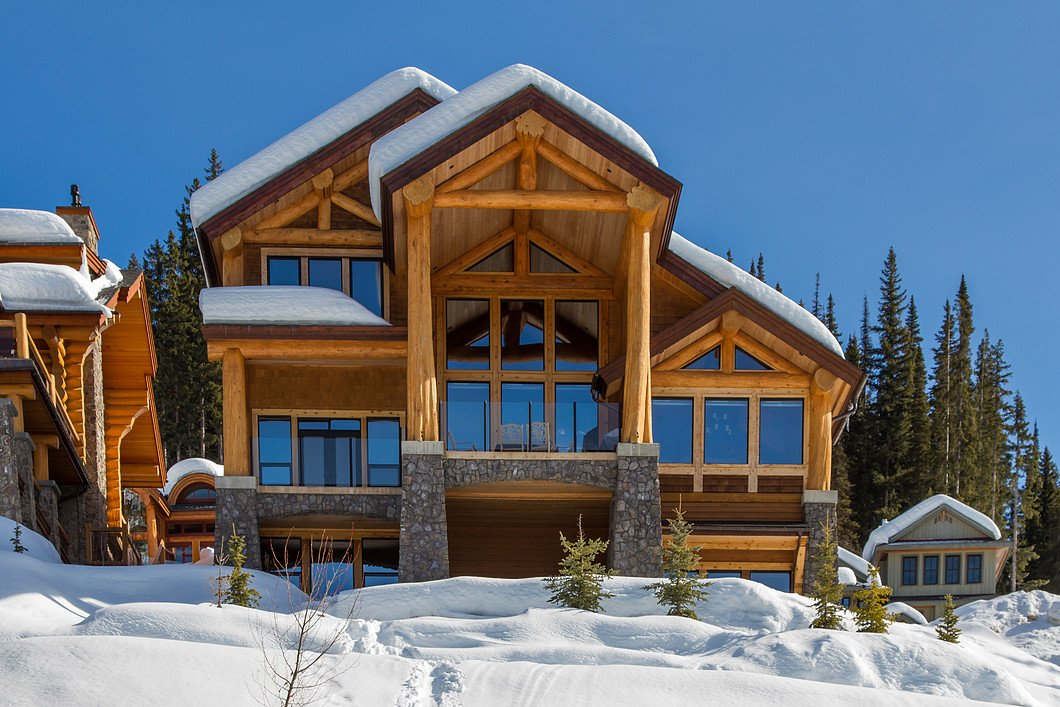 Winter at 4253 Bella Vista Drive, Sun Peaks, BC