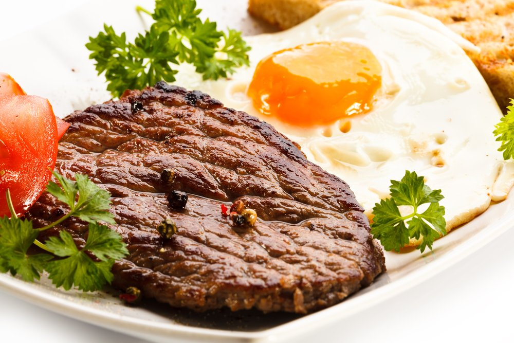 meat and eggs high protein diets