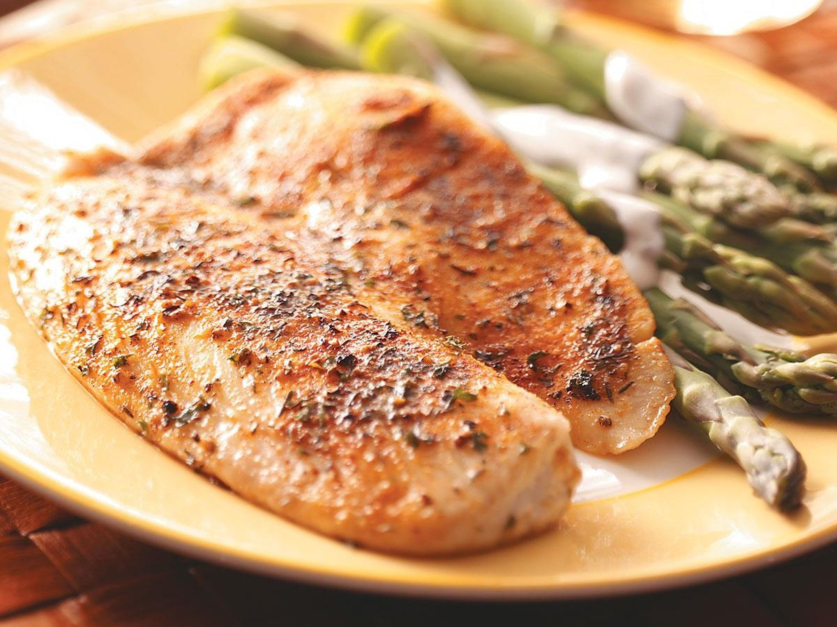 Post Workout High Protein Tilapia Recipe