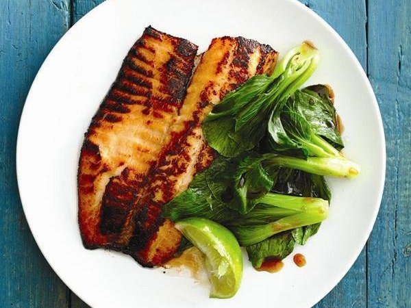 Honey Glazed Tilapia High Protein Recipe
